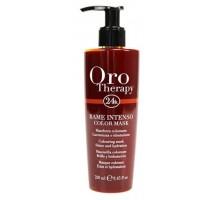 Тонуюча маска Fanola Oro Therapy мідна з ефектом ламінування 250 мл
