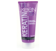 Кондиціонер для волосся Сріблястий ефект, 200 мл, KEEN KERATIN