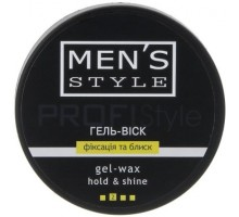 Profi Style Гума Men`s Style для креативного моделювання зачіски 80 мл, Profi Style Резина Men's Style