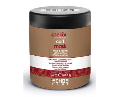Echosline Seliar маска для кучерявого волосся, 1000 мл
