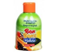 Мalizia Шампунь гель Bon Bons Exotic Twist 500 мл, Шампунь гель Bon Bons Exotic Twist