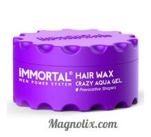 """Віск для волосся """"CRAZY AQUA GEL"""" MEN POWER SYSTEM,  150мл, IMMORTAL"""