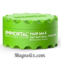 "Віск для волосся натуральне оздоблення ""MAT NATURAL FINISH"" MEN POWER SYSTEM, 150мл, IMMORTAL"