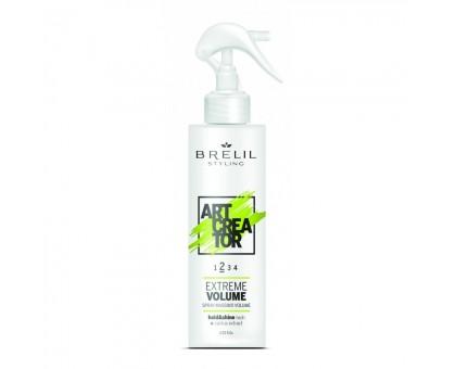 Безгазовий спрей для волосся для надання об'єму (2) Brelil Art Crea Tor 150 мл