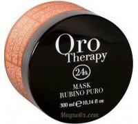 Маска для волосся з мікрочастинками рубіну Fanola Oro Therapy 300 мл