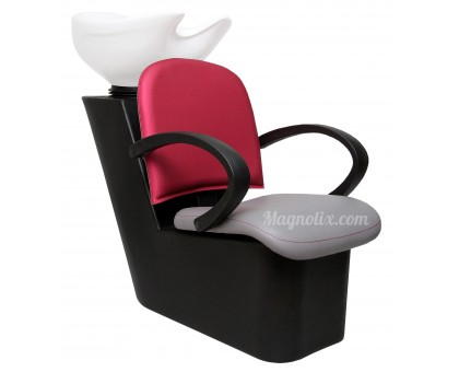 Мийка перукарська Прима з кріслом перукарським Луна
