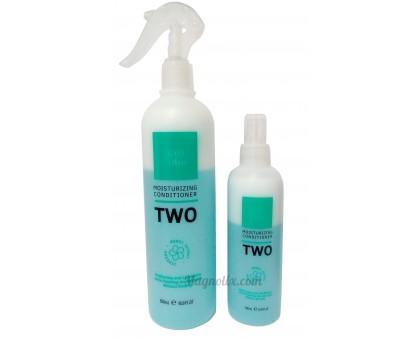 Двофазний спрей кондиціонер для волосся Tiare Color