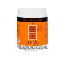 Крем-маска з екстрактом моркви і насіння льону, 1000 мл,  Serical