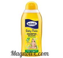 Шампунь дитячий делікатний з екстрактом ромашки,  750мл, MIlMil