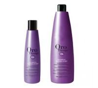 Fanola Oro Therapy шампунь сапфіровий з кератином 1000 мл, Fanola Oro Therapy шампунь сапфировый с кератином