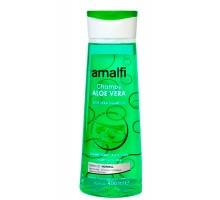 Amalfi увлажняющий шампунь с экстрактом алоэ вера 400 мл