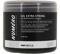 Brelil Numero Гель для волосся екстрасильної фіксації 200 мл, Brelil Numero Гель для волос экстрасильной фиксации