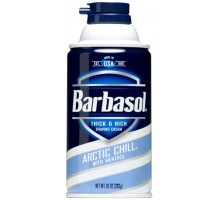 Barbasol Піна для голiння Arctic Chill 283 г, Пена для бритья