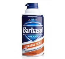 Barbasol Піна для голiння Sensitive Skin 283 г, Пена для бритья
